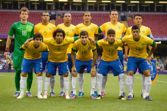 Brazil's unfortunate Olympic 2012 side