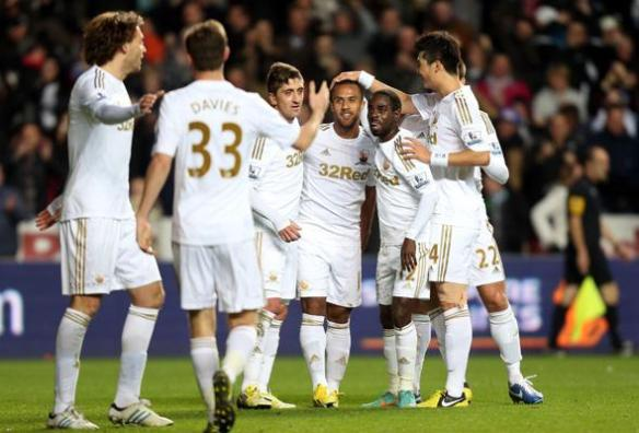 Swansea City are on their way to Wembley