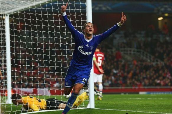 Arsenal+FC+v+FC+Schalke+04+-+UEFA+Champions+League