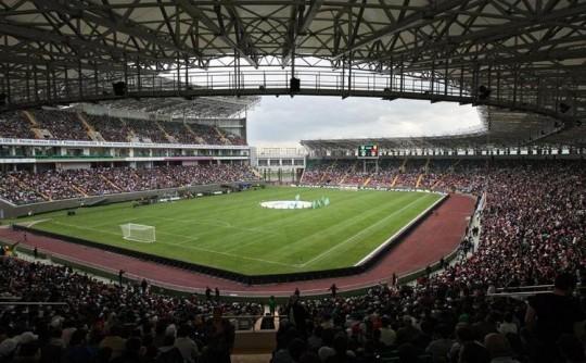 Terek Grozny's Akhmat Arena