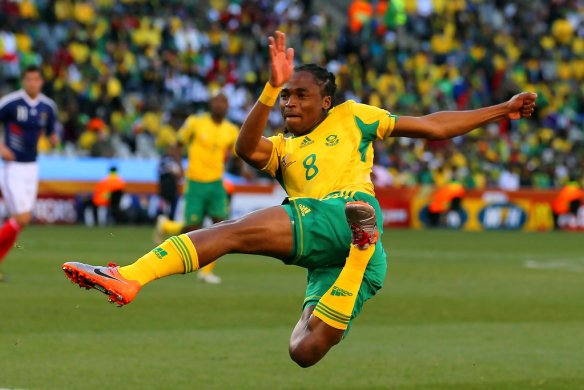 Siphiwe Tshabalala - one of South Africa's most flexible players