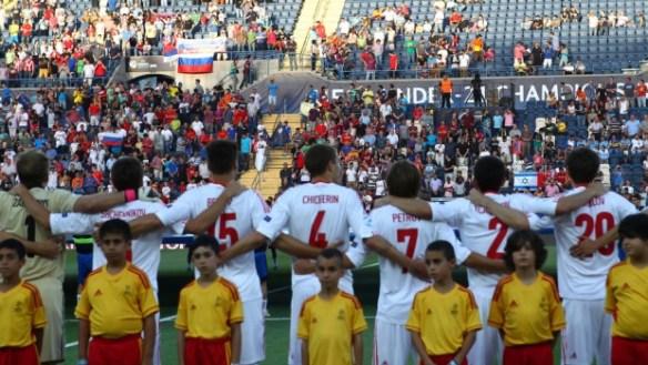 Spain - Russia. EURO-2013 U-21.