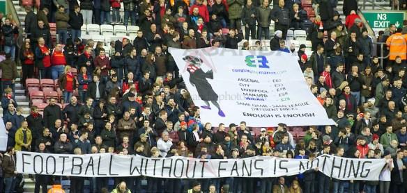 Football - FA Premier League - Wigan Athletic FC v Liverpool FC