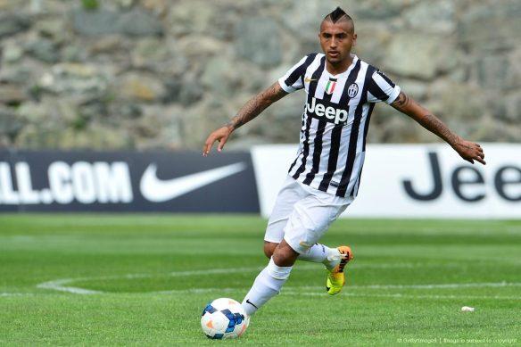Juve's Arturo Vidal