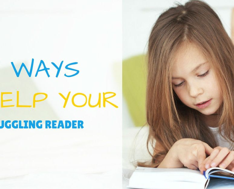 5 Ways You Can Help Your Struggling Reader