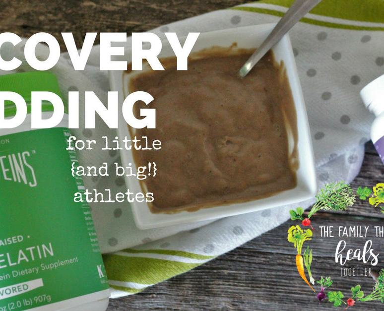 Chocolate Recovery Pudding for Little {and Big} Athletes!