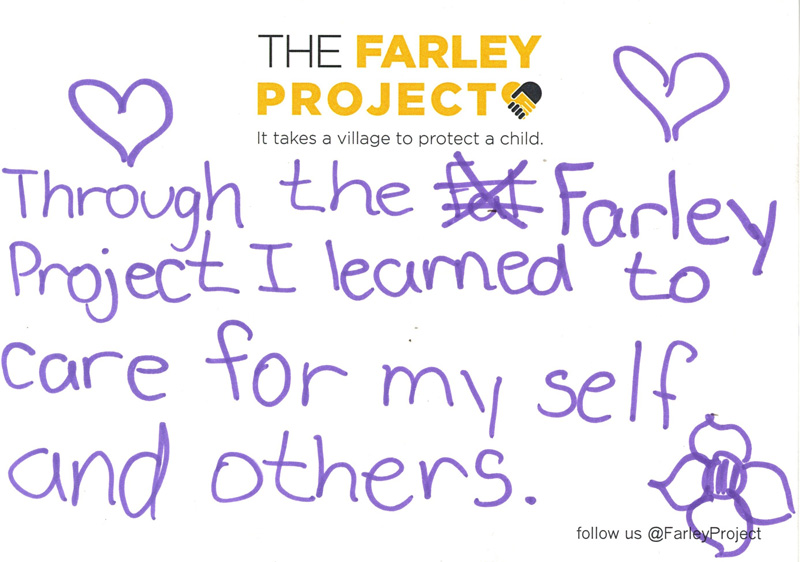 The Farley Project - Student Testimonial