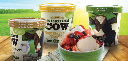 The Farmer's Cow All-Natural Ice Cream