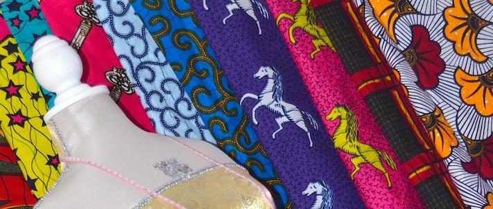 New Finds: Chiffon Ankara Print Fabric