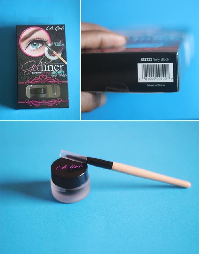 L.A. Girl Gel Liner Review [Yanga Beauty]