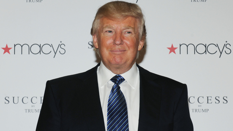MACY'S ENDS PARTNERSHIP WITH DONALD TRUMP