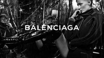 Gisele Bundchen Photographed by Steven Klein for Balenciaga's Fall-Winter 2014-15 Campaign