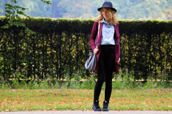 fashionmoodboard wearall burgundy jacket