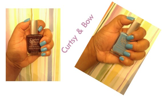 Curtsy & Bow Organic Nail Lacquer