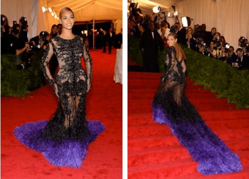 Beyonce at 2012 Met Gala