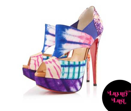christian louboutin multicolored pitou