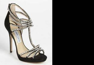 Jimmy Choo Black Kera Platform Sandal