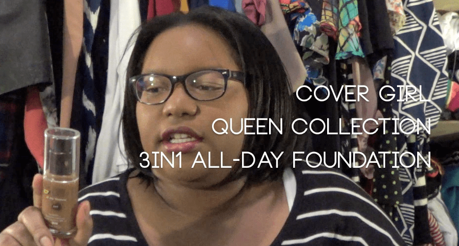 COVERGIRL Queen Collection All Day Flawless Foundation