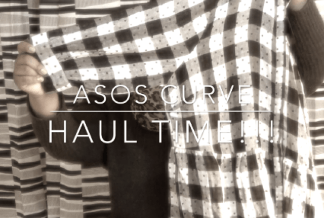 ASOS Curve Haul Review