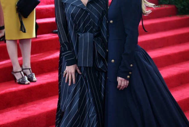 Mary-Kate and Ashley OlsenMet Ball 2014