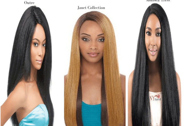 Yaki Lace Front Wigs