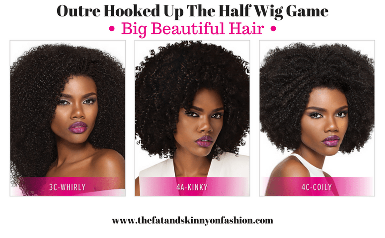 Outre Has The Best Half Wigs For Natural Hair!?!?!