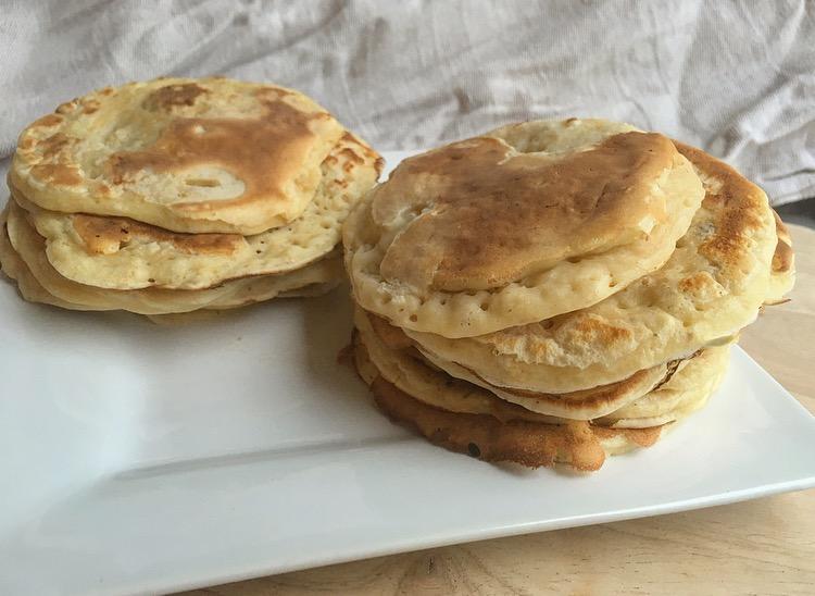 pancakes healthy : la recette traditionnelle mais.. un peu plus light!