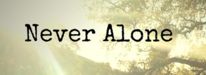 Never Alone title