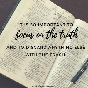 focus on the truth