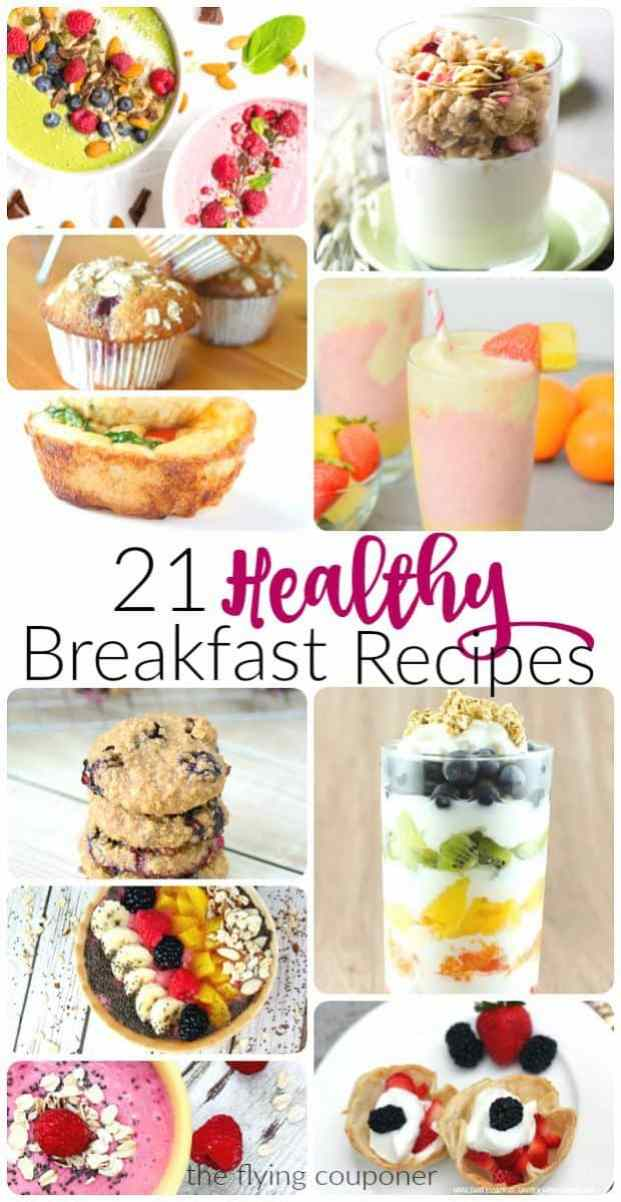 21 Healthy Breakfast Recipes. The Flying Couponer.