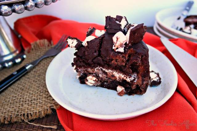 Rocky Road Cake - The Foodie Affair