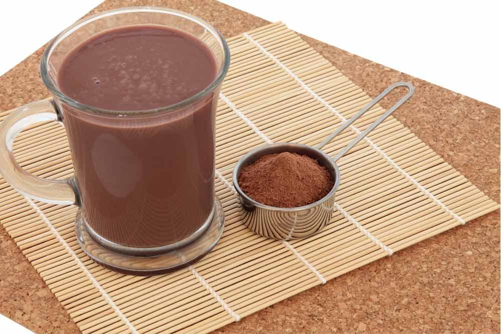 maca chocolate smoothie