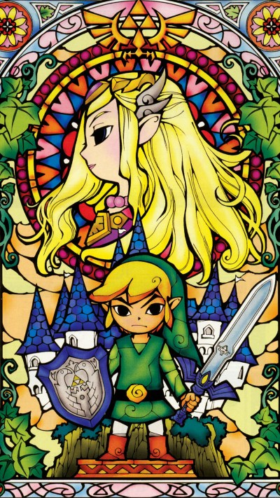 The Forgotten Lair | The Legend of Zelda Mobile Wallpapers