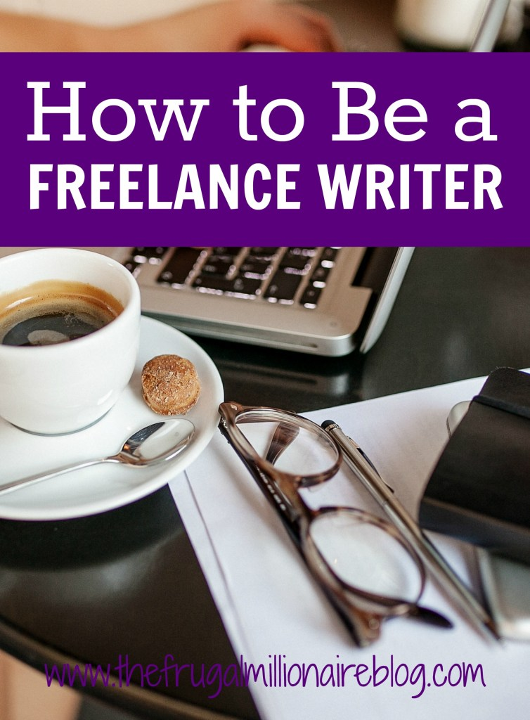 Do you want to be a freelance writer? Let me show you how to easily start making a living online from the comfort of your home! You can set your own schedule, stay home with your kids, pay off debt faster, make a full-time income, and more. The sky's the limit! Here's how to be a freelance writer.