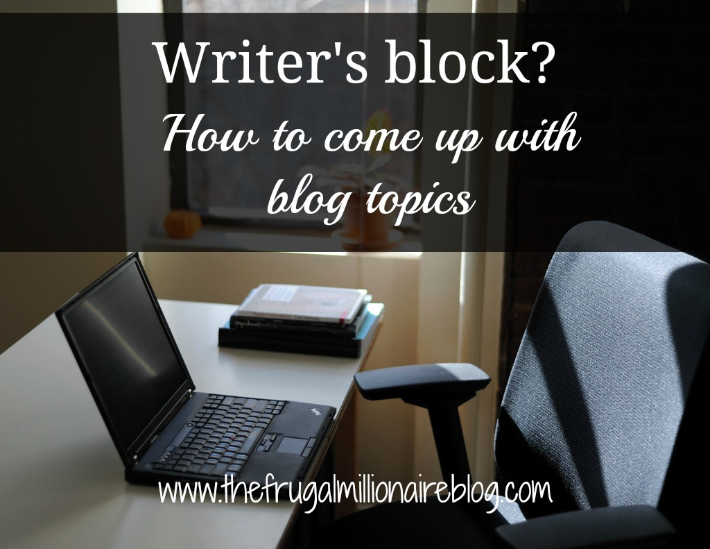 What topic do you like to write about?