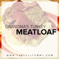 Grandma's Turkey Meatloaf