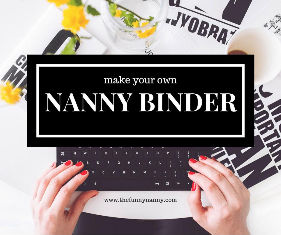 ultimate guide  nanny binder