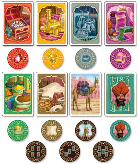 jaipur cards and tokens