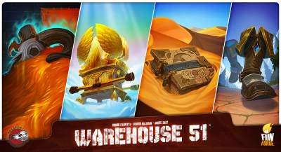 Warehouse 51: Game about auctioning cool mythological relics?  Yes please!
