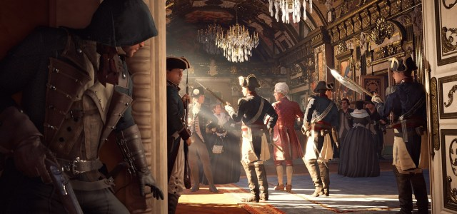 """<div class='at-above-post-homepage addthis-toolbox' data-title='Assassin's Creed: Unity Review – Death Never Looked So Pretty' data-url='http://www.thegamescabin.com/assassins-creed-unity-review-death-never-looked-pretty/'></div><div class='at-above-post-homepage-recommended addthis-toolbox' data-title='Assassin's Creed: Unity Review – Death Never Looked So Pretty' data-url='http://www.thegamescabin.com/assassins-creed-unity-review-death-never-looked-pretty/'></div><p><em><span style=""""font-family: arial,helvetica,sans-serif; font-size: 12pt;"""">Note: Ubisoft declined to send a review copy, so we're not constrained to review embargo dates as the copy reviewed was bought by the reviewer out of his own pocket. Not cheaply either…</span></em></p> <p><span style=""""font-family: arial,helvetica,sans-serif; font-size: 12pt;""""><a href=""""http://www.amazon.co.uk/gp/product/B00I9WW7HK/ref=as_li_qf_sp_asin_il_tl?ie=UTF8&camp=1634&creative=6738&creativeASIN=B00I9WW7HK&linkCode=as2&tag=wwwthegames09-21&linkId=TTWASDKMA5VUUSMR"""" target=""""_blank""""><span style=""""text-decoration: underline; color: #333399;""""><strong>Assassin's Creed: Unity</strong></span></a> marks the 8th entry </span>…</p>"""