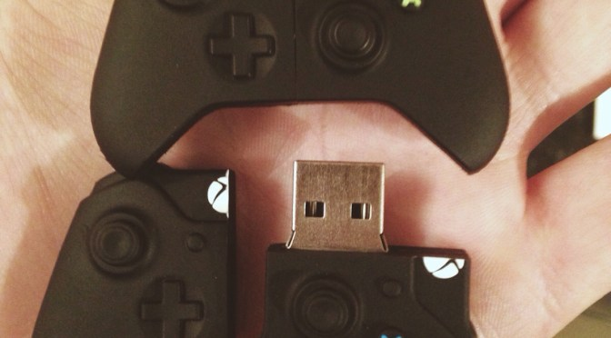 Cool: Check Out These Wicked Xbox One Controller Flash Drives