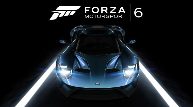 News: Forza 6 Announced For Xbox One, Brand New Ford GT Images Inside