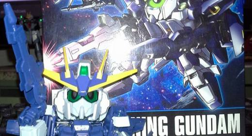 SD BB Lighting Gundam Review