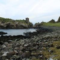 The sweeping bay around Kinbane Castle, Northern Ireland