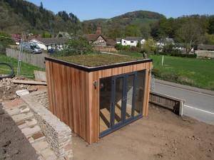 Sanctum Garden Studios Sedum Roof 1