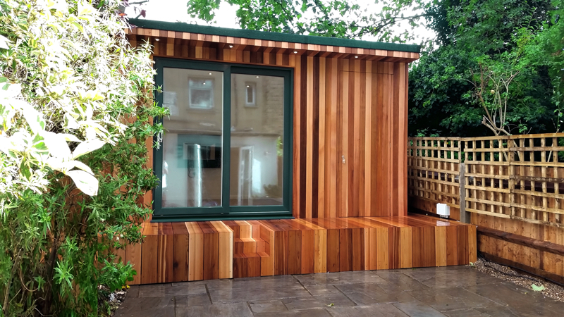 Garden room with concealed storage-1
