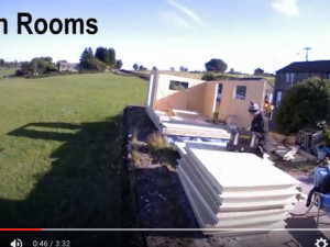 watch a garden room build