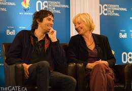 Jim Sturgess and Kari Skogland