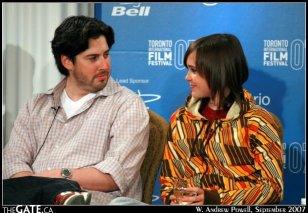 Jason Reitman and Ellen Page