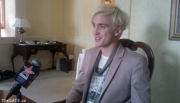 Tom Felton in Toronto